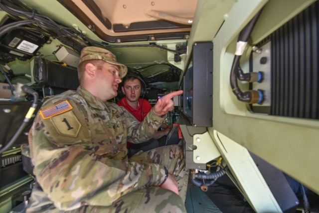 Army's GVSC, Picatinny Arsenal test robotic combat vehicle prototype at Fort Dix