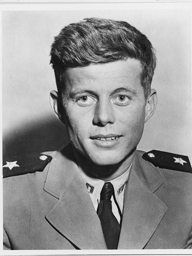 United States Navy Reserve Lieutenant John F. Kennedy
