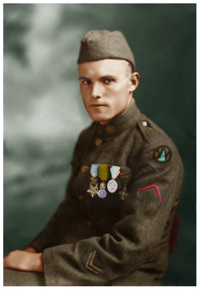 Army Pfc. Charles Barger.