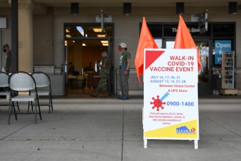 Vaccination Station: joint service initiative at Navy Exchange Pearl Harbor