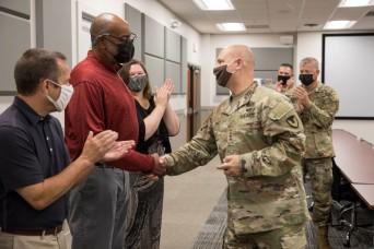 AMC Commanding General visits Operation Allies Refuge