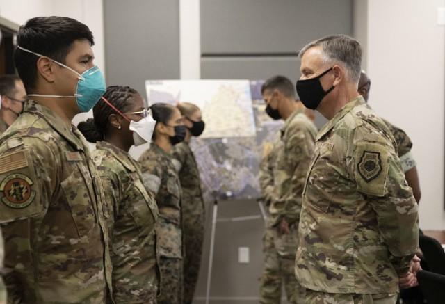Operation Allies Refuge Gen. VanHerck Visit