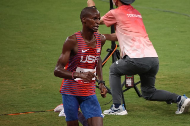 Army runner earns spot in final at first Olympic performance