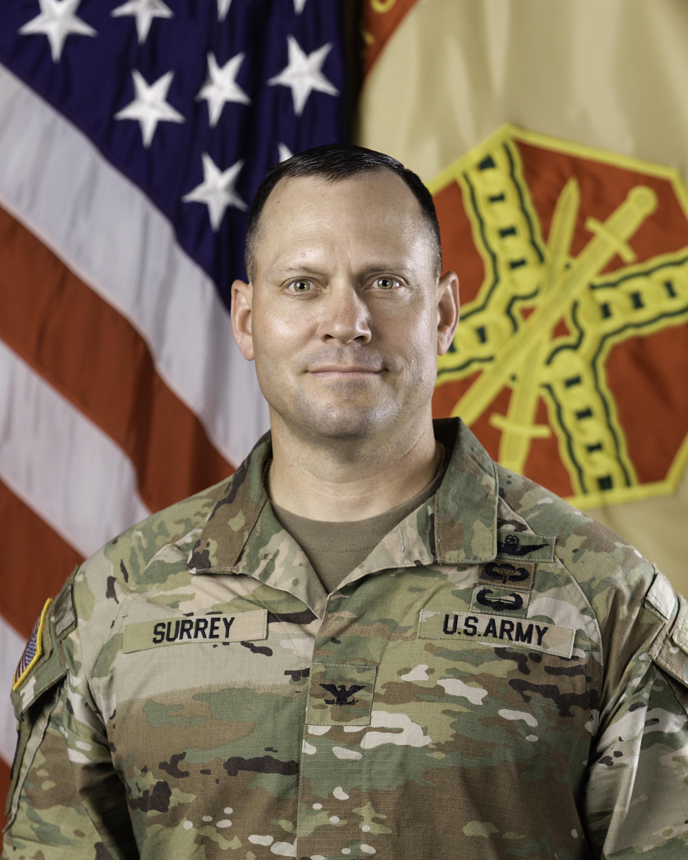 Col. Nathan Surrey