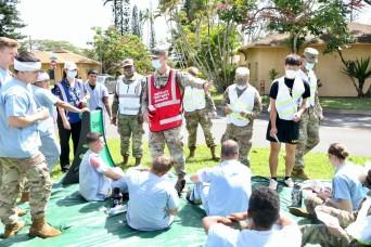 Full-scale exercise tests emergency capabilities of U.S. Army Garrison Hawaii