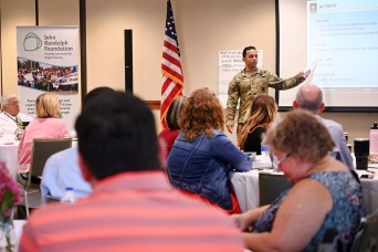 CASCOM team delivers resilience training to off-post educators