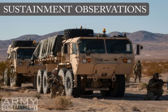 Sustainment Observations: forward support companies undergunned for decisive action
