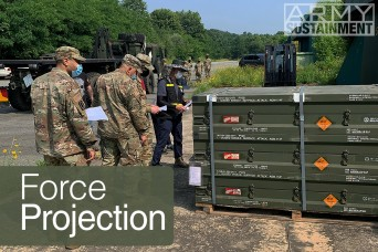 Force Projection: Class V operations in Korea
