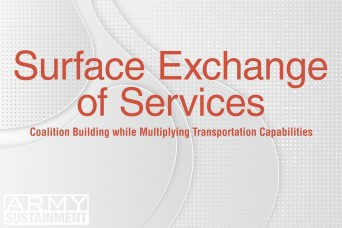 Surface Exchange of Services: Coalition building while multiplying transportation capabilities