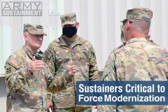 Sustainers Critical to Force Modernization