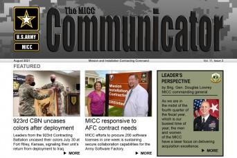 August MICC Communicator