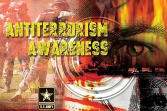 See something, say something: Army observes Antiterrorism Awareness Month