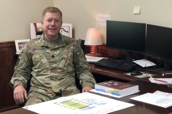Redstone Arsenal welcomes Lt. Col. Charles Halverson as new staff judge advocate