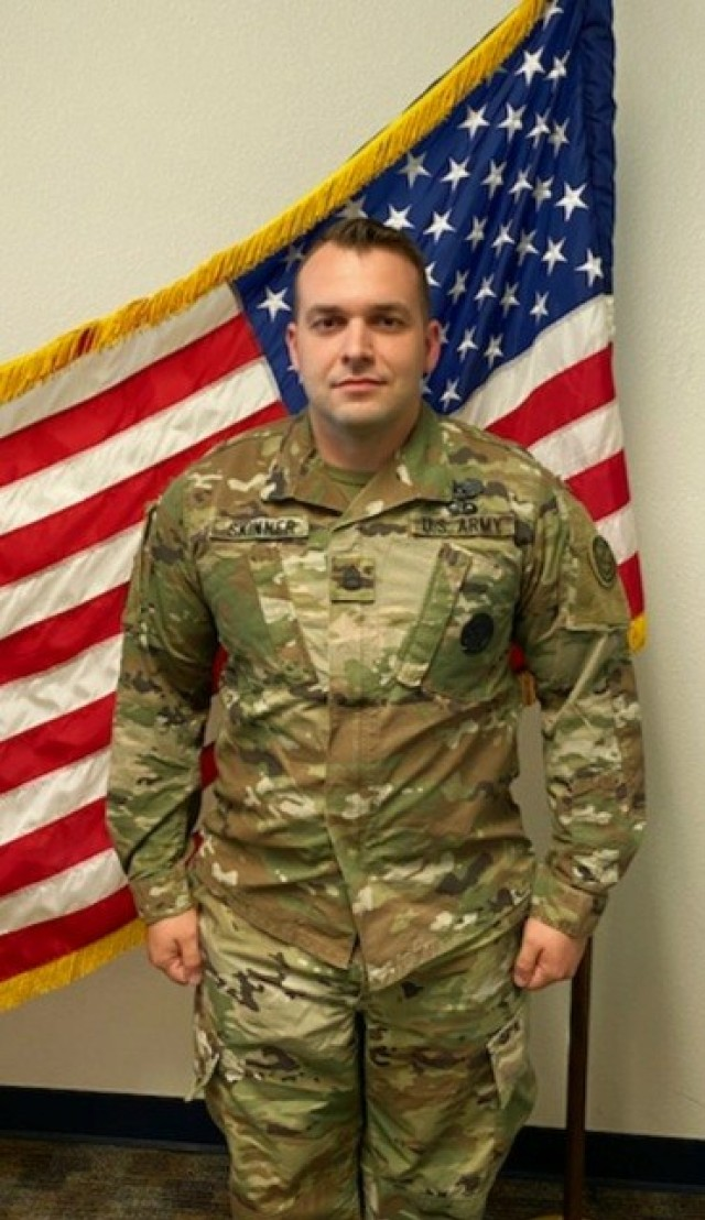 Sgt. 1st Class Randall Skinner, North Chesterfield, Virginia, was named TRADOC 2021 Army Reserve Instructor of the Year.
