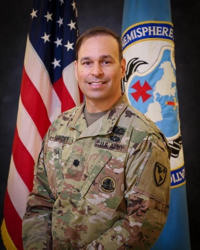 Lt. Col. David Semidey, of Fort Benning, Georgia, was named TRADOC 2021 Educator of the Year.
