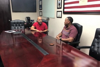 Program connects Fort Hood Soldiers with civilian mentors