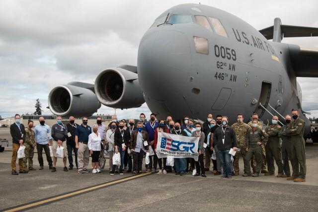 Strengthening pillars: Civilian employers observe military life of Reserve Citizen Airmen