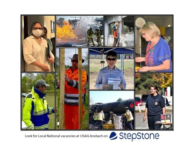 USAREUR-AF recently selected StepStone in a pilot project to announce local national vacancies on a professional, easily accessible public portal. USAG Ansbach was able to advertise six DPW positions on StepStone.com for a technically skilled local national candidate pool.
