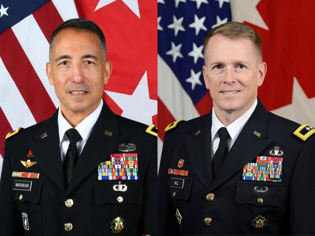 Aug. 31 will see the changing of the guard as Maj. Gen. Major General Stephen J. Maranian, Commandant of the United States Army War College hands over the Command of the USAWC to Major General David C. Hill during a change of command ceremony.