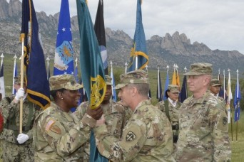 White Sands Test Center Change of Command