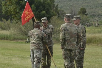 3-6 Air and Missile Defense Test Detachment Change of Command