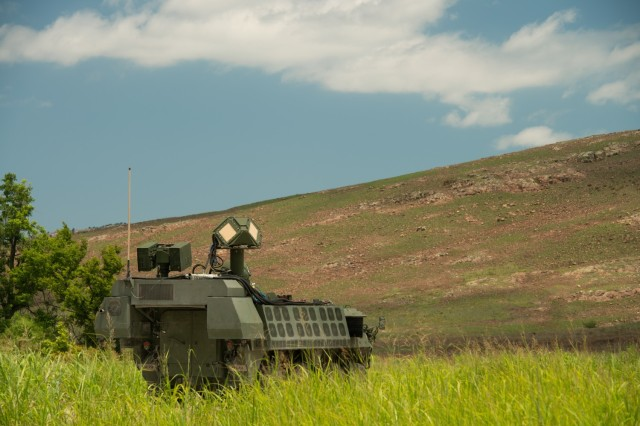 The Army recently conducted a successful evaluation of a new Directed Energy-Maneuver Short-Range Air Defense system, or DE M-SHORAD, aboard a Stryker combat vehicle,  moving the service one step closer to fielding a platoon of four laser-equipped Stryker prototypes next fiscal year. The prototype proved its abilities during a combat shoot-off in July 2021 at Fort Sill, Okla.