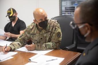 1st MSC Recognizes Civilian Workforce