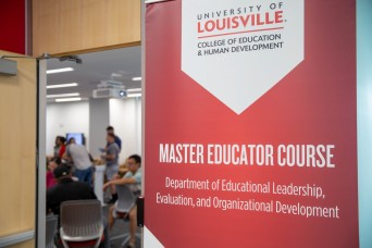 Mentoring the Next Generation: General Patton Internship and Master Educator Course