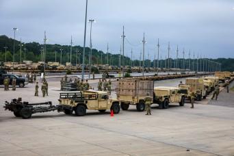 Rakkasans wrap up railhead operations in preparation for SEDRE