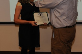 Employee recognized for vital role in immunization of workforce