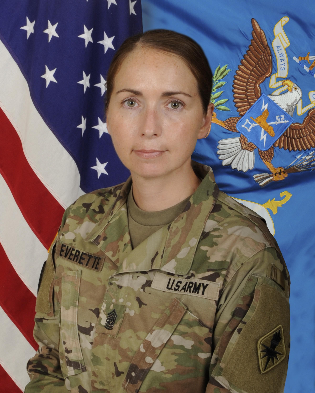Command Sgt. Maj. Tammy M. Everette
