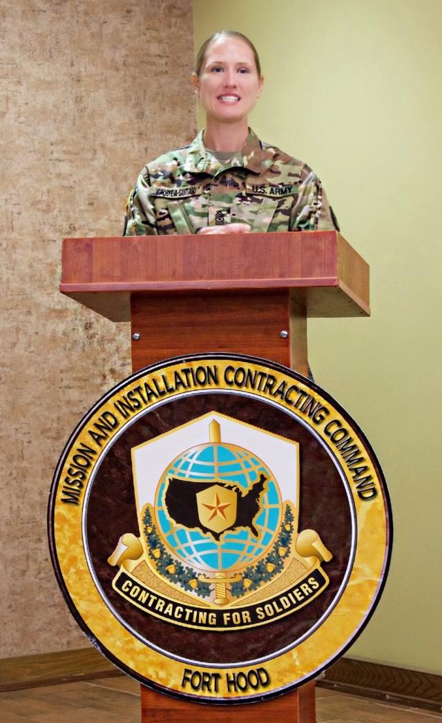 Sergeants major assume responsibility of battalions