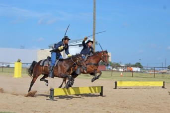 'We are the cavalry!' Mounted demonstrations resume at Fort Hood