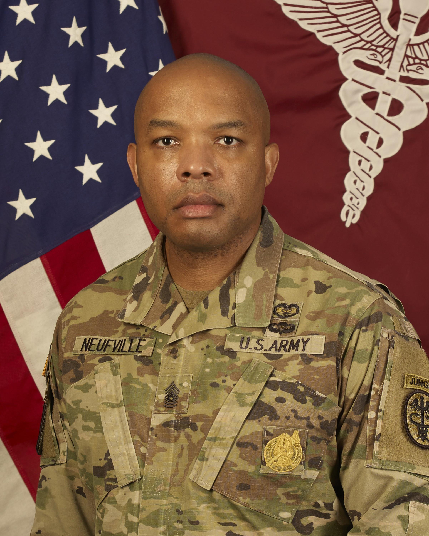 Command Sgt. Maj. Abuoh E. Neufville