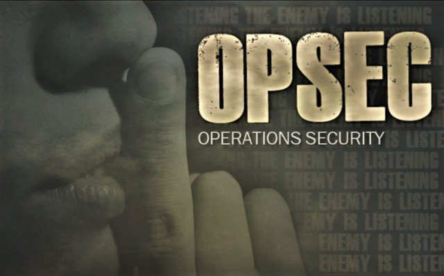 Awareness about operations security, or OPSEC, for Department of Defense employees, military members, and others is critical to mission success. During August and Antiterrorism Awareness Month, DOD personnel are reminded to remember OPSEC. (U.S. Army Graphic Illustration)