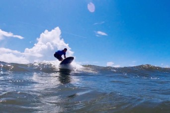 Surf's Up! Adaptive Surfing Program Helps Recovering Soldiers Ride Waves