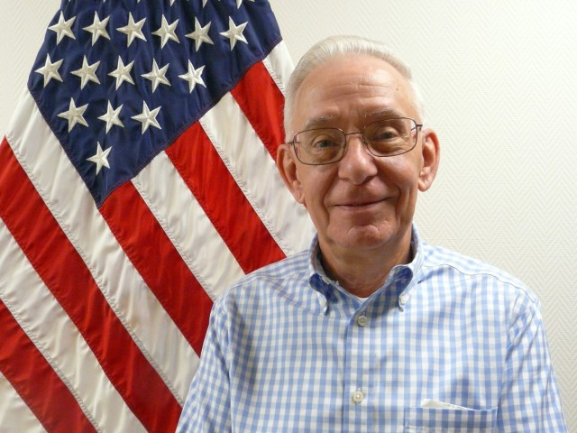 Dave McCracken, facility manager for the IMCOM-Europe Workforce Development Center, has been a part of the Army since he enlisted in 1969.