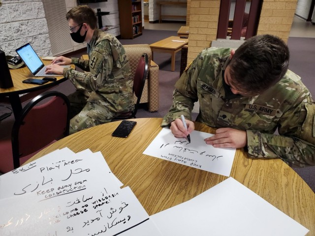 National Guard supports vulnerable Afghans at military bases