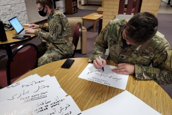 National Guard supports Afghan evacuees at military bases