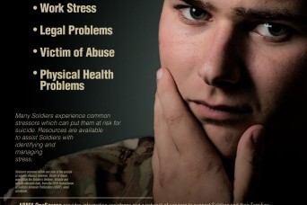Recognizing suicide warning signs, stressors can save lives - even your own