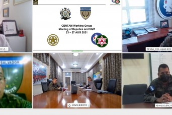 Army South-led CENTAM Working Group allows for future exercise planning in Latin America