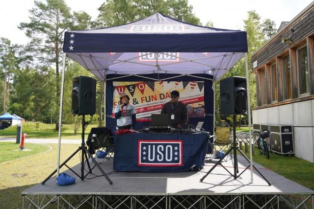USAG Bavaria community enjoys celebratory USO Sun & Fun