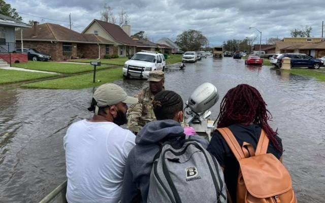 National Guard responds in force to Hurricane Ida