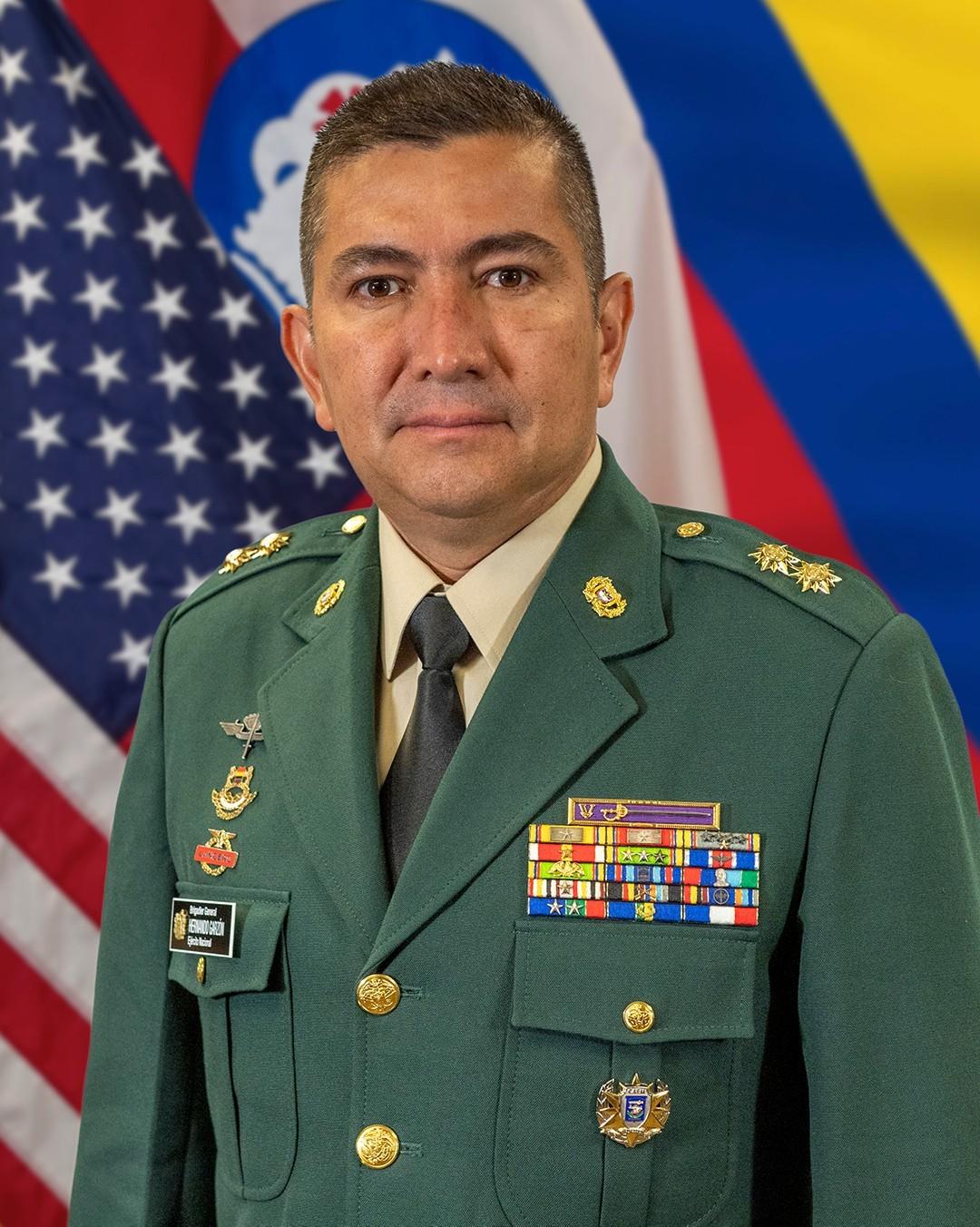 Brig. Gen. Hernando Garzon Rey