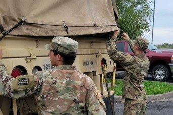 Virginia Guard helps with flood response in Buchanan County