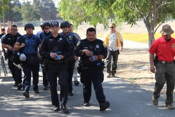 63rd Readiness Division; Santa Clara County Sheriff's Office conduct active-shooter response training exercise