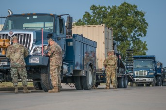 Oklahoma Guard in Louisiana to help with hurricane relief