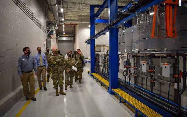 Crane Army cuts ribbon on facilities set to modernize munitions readiness for the Joint Force