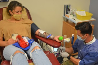 'A GREATER PURPOSE' - Military blood program relies on donors