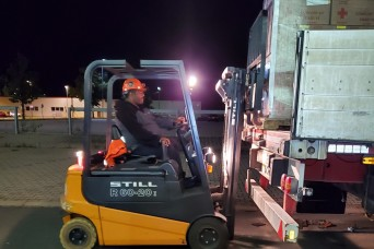 LRC-Ansbach employee works straight through night to support Operation Allies Refuge